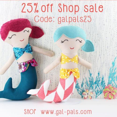 gal-pals mermaid softies