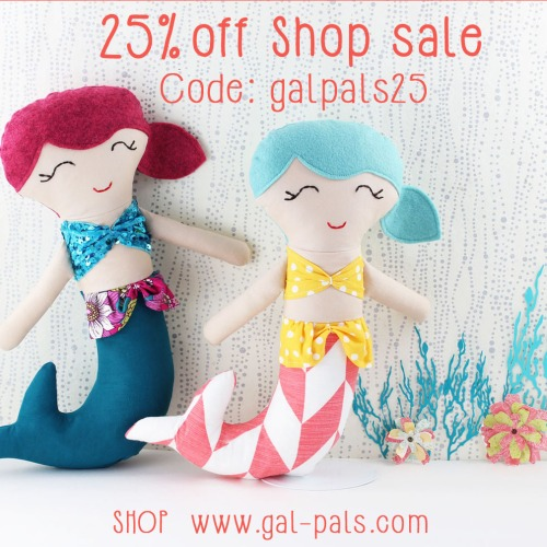 gal-pals mermaid softies