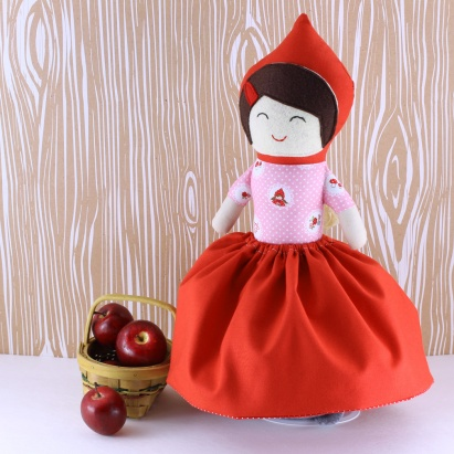 plush toys softies little red riding hood