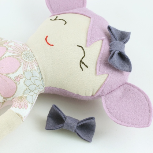 Violet rag doll by Gal-Pals