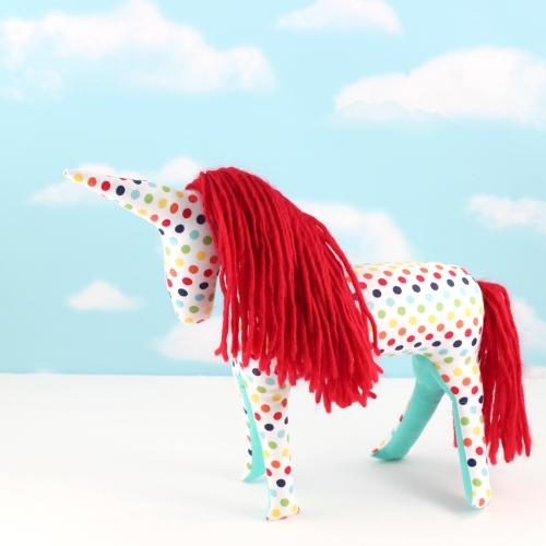 unicorn softie doll