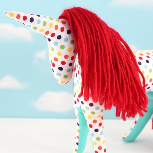 unicorn softie toy