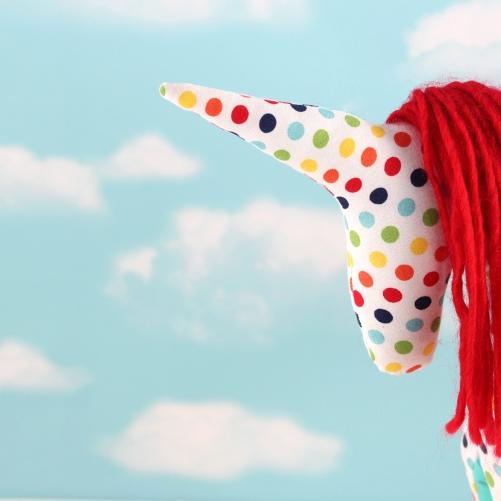 unicorn softie by Gal-Pals
