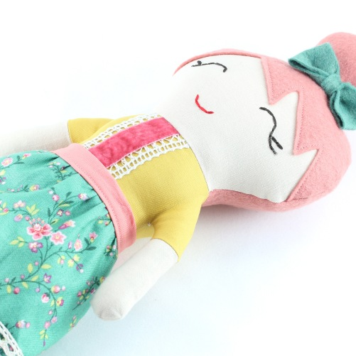 Lady Charlotte rag doll