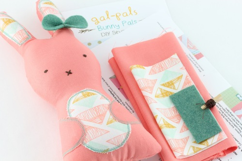 plush bunnie sewing kit