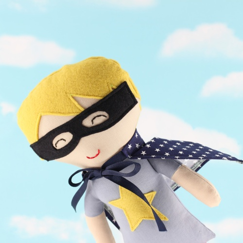 super hero softie doll