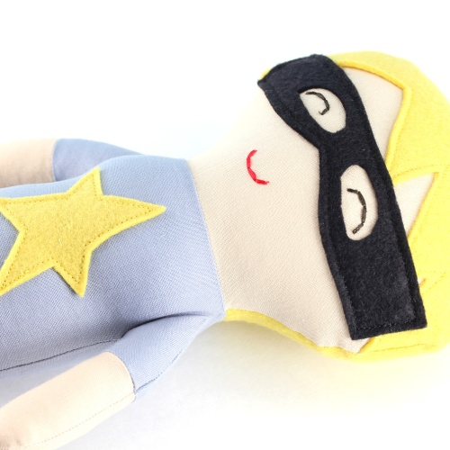 super hero boy doll