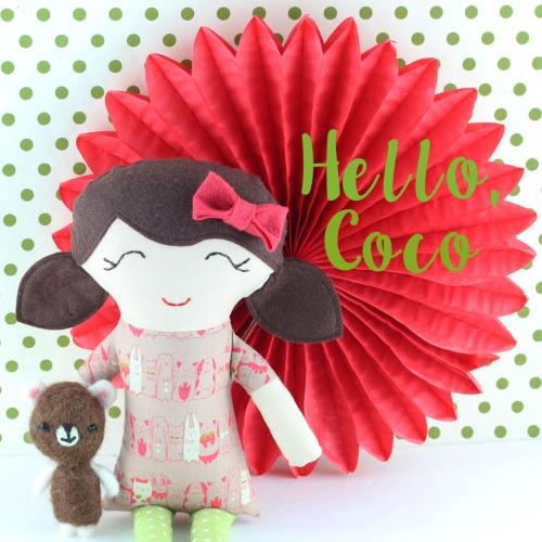 gal-pals coco rag doll